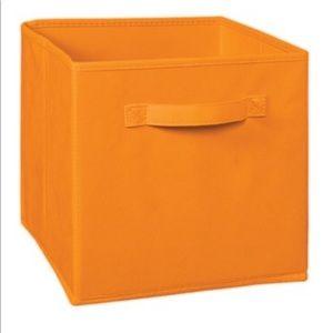 ClosetMaid Collapsible Storage Bins Orange NWT
